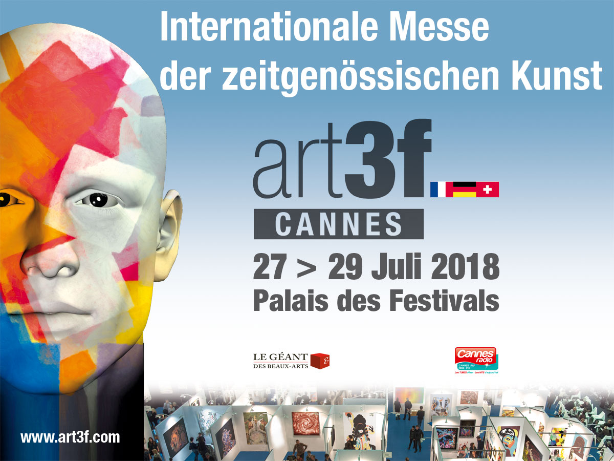 art3f Cannes 27>29 Juli 2018