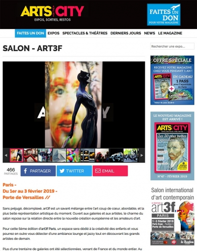 ART IN THE CITY - art3f PARIS