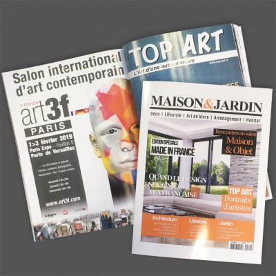 Maison&Jardin N°30 et TOP ART